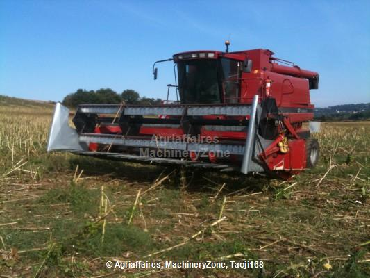 Sunflower harvesting equipment
